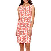 Alyx® Sleeveless Geometric Sheath Dress