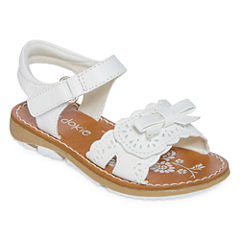 Okie Dokie Blossom Girls Flat Sandals - Toddler