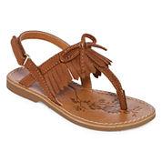 Okie Dokie Lil Calla Girls Flat Sandals