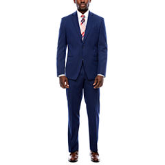 Collection by Michael Strahan Blue Stripe Suit Separates- Classic Fit
