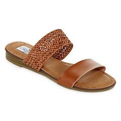 Tallulah Blu Tangerine Womens Flat Sandals