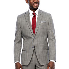 Collection by Michael Strahan  Classic Fit Grid Suit Jacket