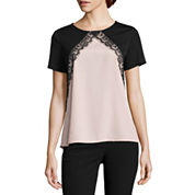 Worthington Lace Detail Top