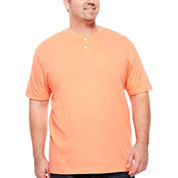The Foundry Big & Tall Supply Co.™ Short-Sleeve Henley Shirt