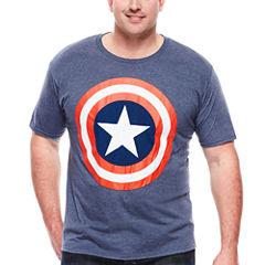 Mad Engine Captain America Tee - Big & Tall