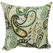 Tamara Paisley Quartz Decorative Pillow