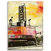 The Uptown Canvas Wall Art