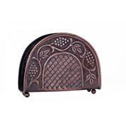 Old Dutch Antique Embossed Heritage Napkin Holder