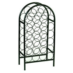 Old Dutch 27 Bottle Matte Black Classic Arch WineRack