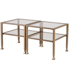 Ithaca Glass Cocktail Table