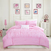 Mi Zone Penelope Ruched Comforter Set