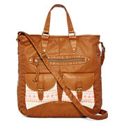 T-Shirt & Jeans™ Washed Double-Pocket Tote
