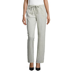 Misses Size Linen Pants for Women - JCPenney