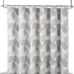Liz Claiborne® Speckle Leaf Shower Curtain