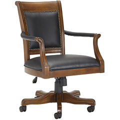 Galloway Leather Game Chair