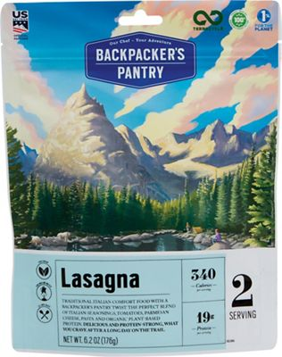 Backpacker's Pantry Lasagna