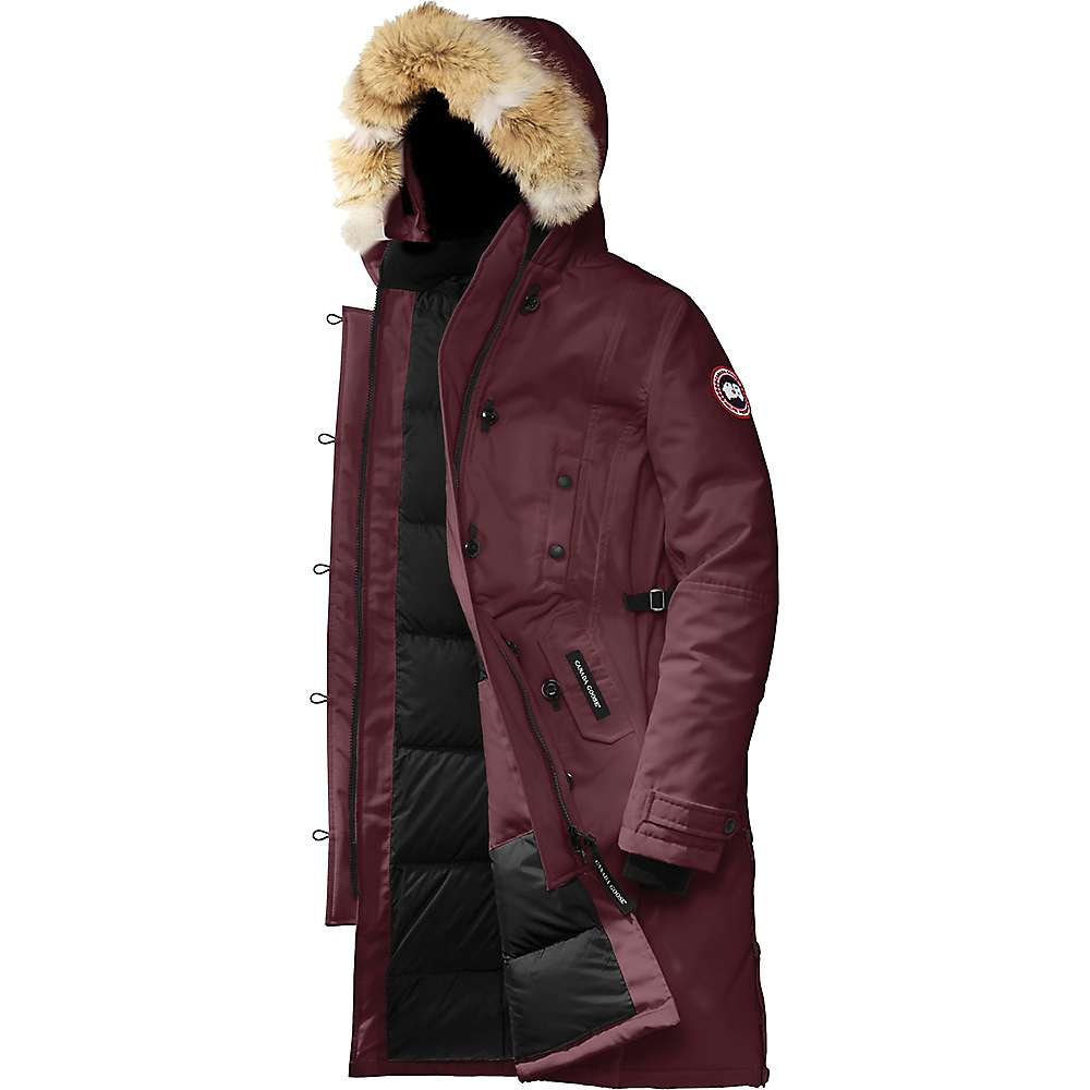 Canada Goose Women's Kensington Parka - at Moosejaw.com
