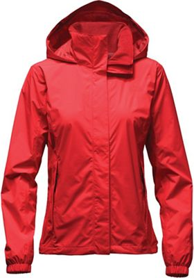 The North Face Resolve RainWomen's Jacket (High Risk Red)