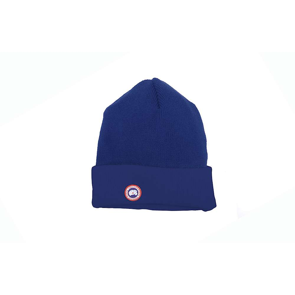 Canada Goose' Merino Wool Watch Hat Color Blue, Size One Size