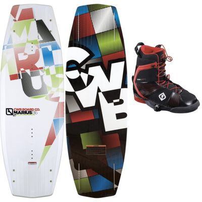 CWB Marius Wakeboard 141 w/ Marius Bindings - Men's