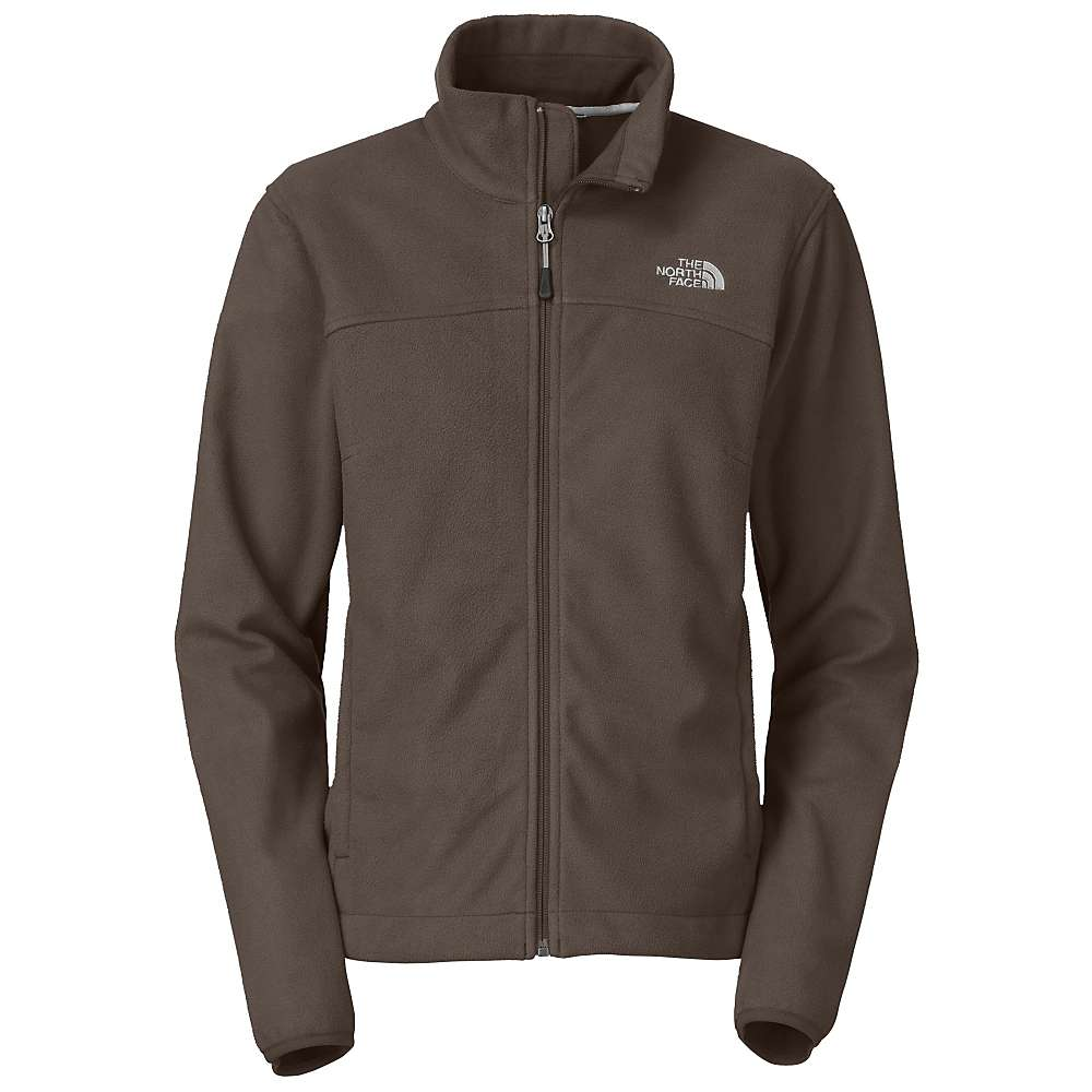 Womens brown north face jacket