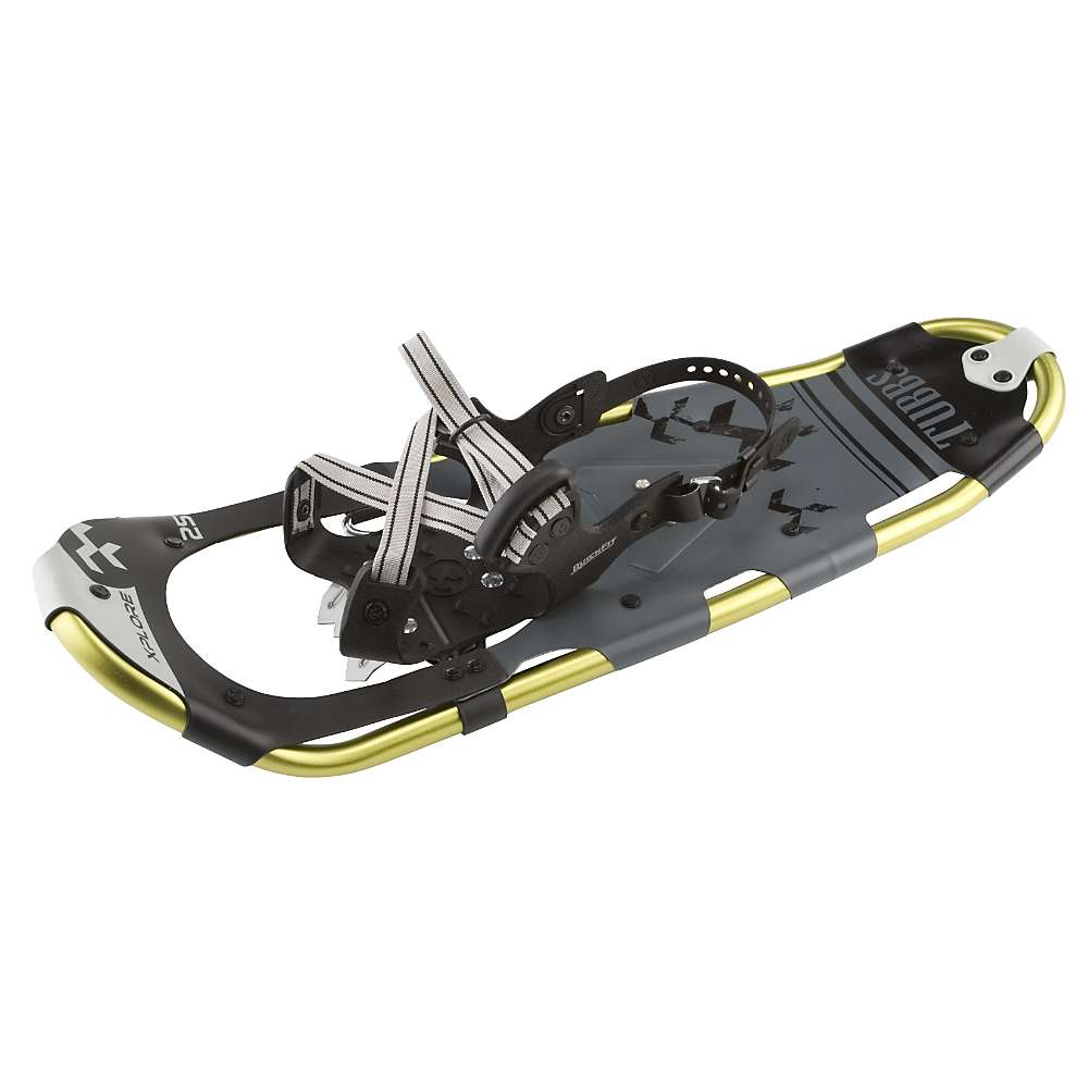 tubbs snowshoes how to put on