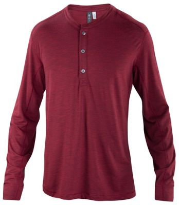 Ibex Men's OD Henley LS Top