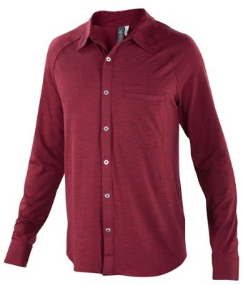 Ibex Men's OD Heather LS Shirt