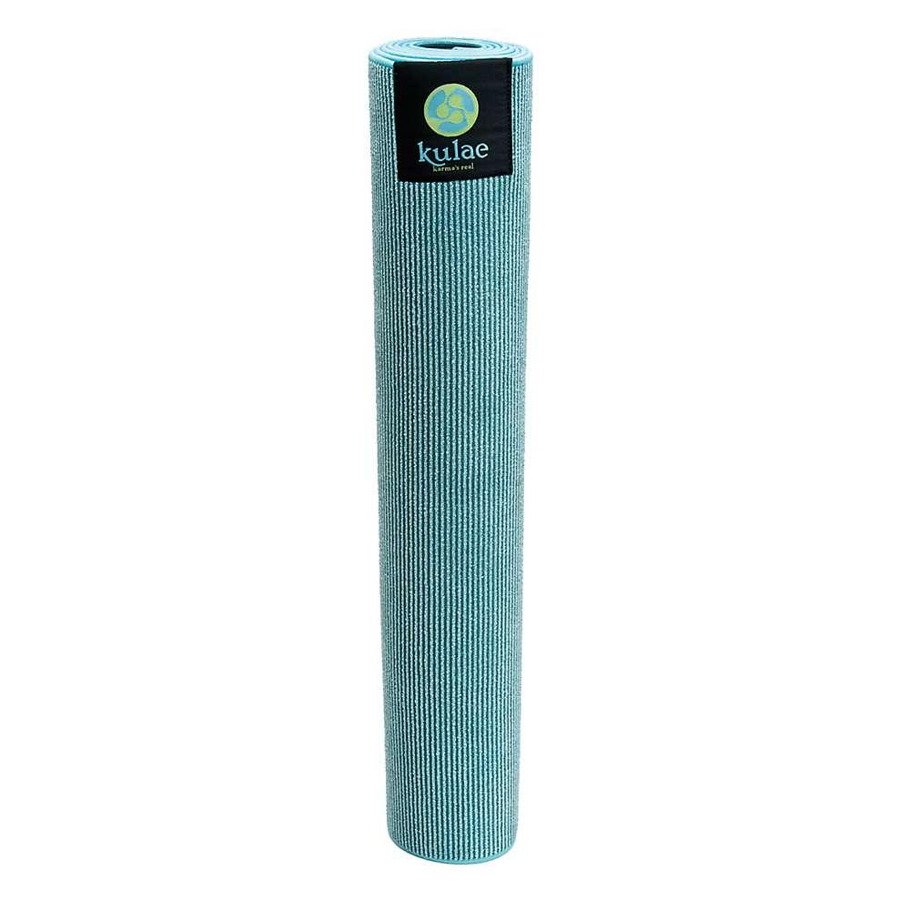Eco Natural Yoga Mat Towel Combo: Kulae Elite Hot Hybrid Yoga Mat Towel Combo