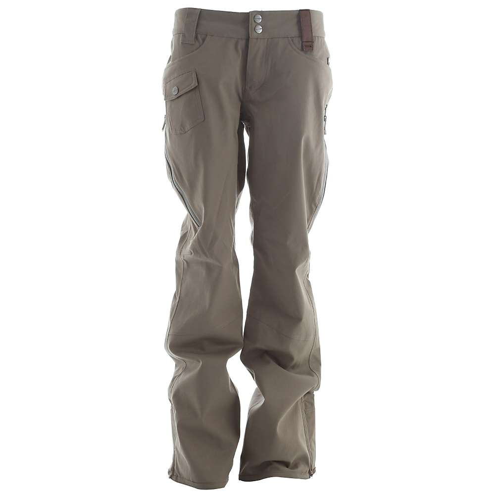 Model Black Khaki Pants Womens