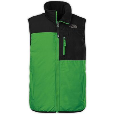 The North Face Boys' Insulated Reversible Ledger Vest