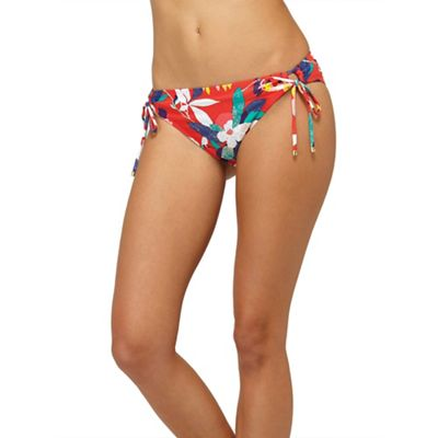 Roxy Women's Tropic Paradise 70's Lowrider Tie Side Bottom