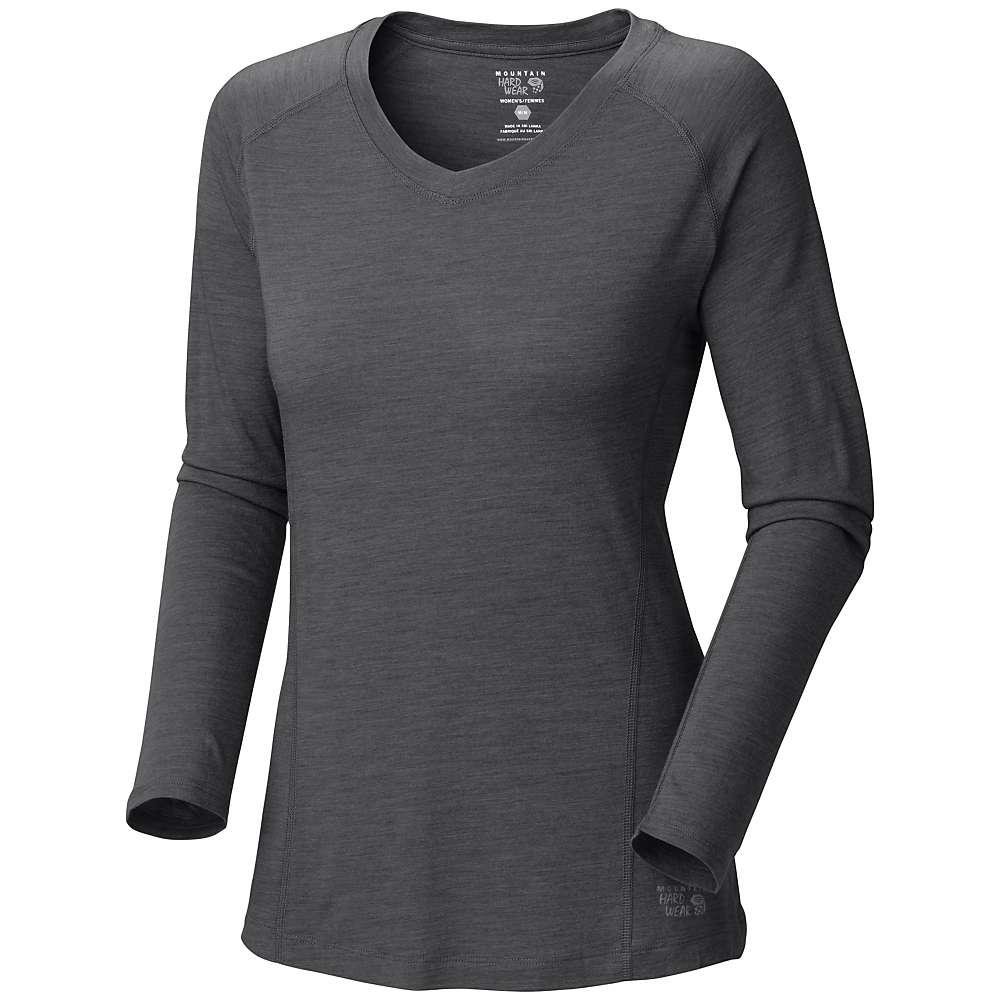 Mountain hardwear women 39 s integral long sleeve t shirt for Mountain long sleeve t shirts