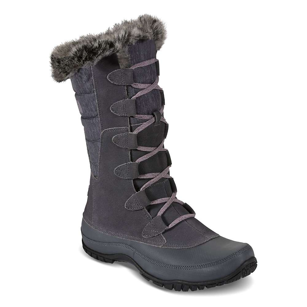 Excellent The North Face The North Face Womens Nuptse Faux Fur Iv Boot In Brown (demitasse Brown/elixir ...