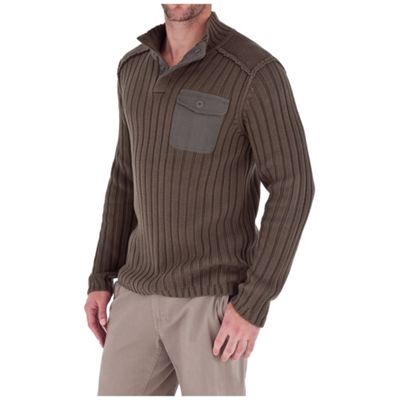 Royal Robbins Men's Quebec Snap Mock Sweater