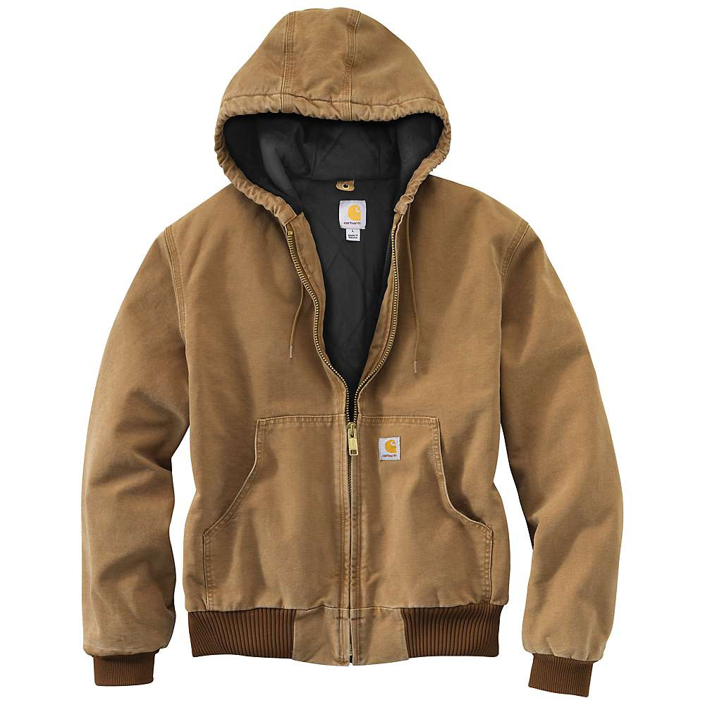carhartt s quilted flannel lined duck active jacket