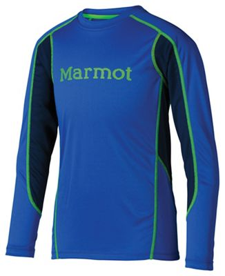 Marmot Boys' Windridge with Graphic LS Shirt