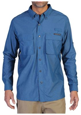 ExOfficio Men's Air Strip Long Sleeve Shirt