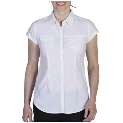 ExOfficio Women's Dryflylite Cap Sleeve Shirt