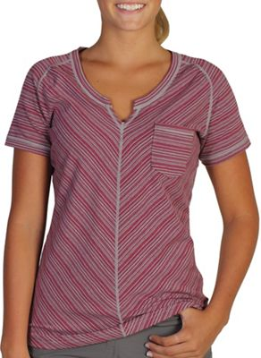 ExOfficio Women's Go-To Pocket Stripe SS Top