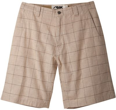 Mountain Khakis Men's Boardwalk Plaid Short - 12 Inch Inseam