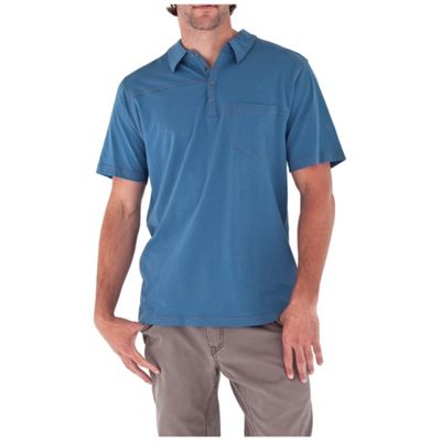 Royal Robbins Men's Organic Jersey SS Polo Shirt