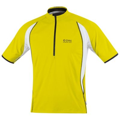 Gore Running Wear Men's Air Zip Shirt