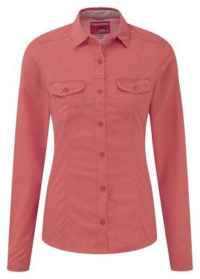 Craghoppers Women's Nosilife Darla Long Sleeve Shirt