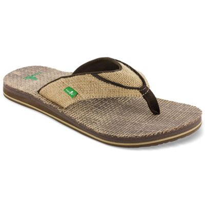 Sanuk Men's Beer Cozy Double Jute Sandal
