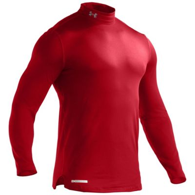 Under Armour Men's Evo Coldgear Fitted Mock Neck Top