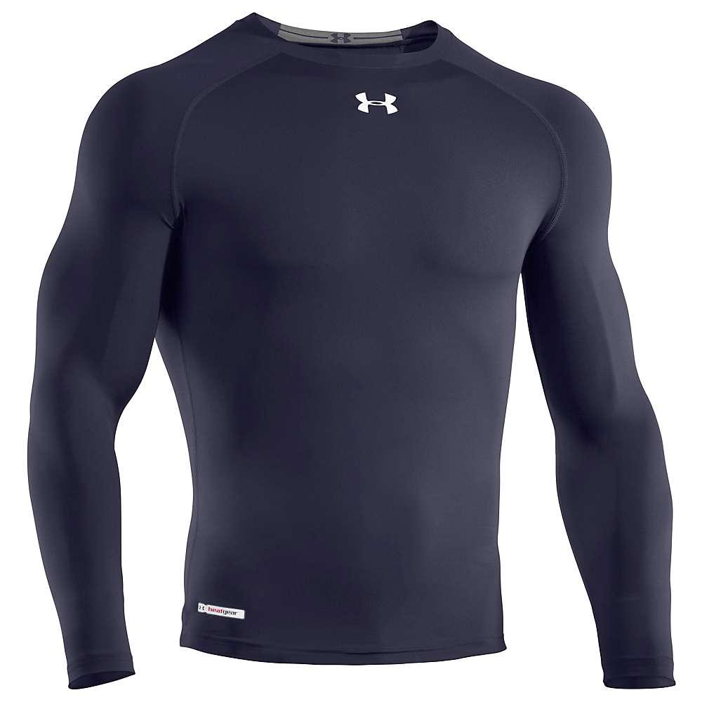 Under armour men 39 s heatgear sonic compression long sleeve for Yellow under armour long sleeve shirt