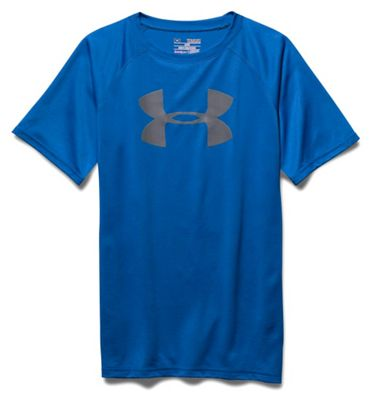 Under Armour Boys' UA Tech Big Logo SS Tee
