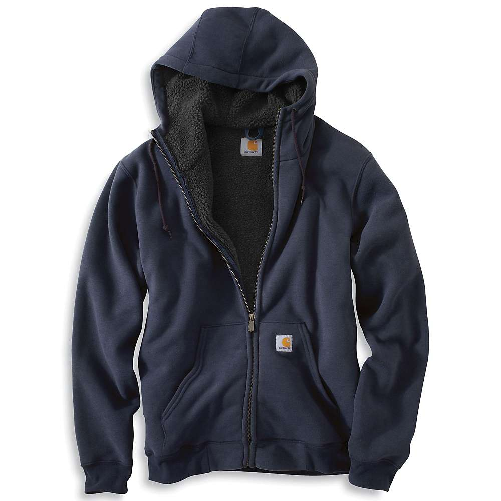 collinston men Carhartt 100072 collinston brushed fleece sherpa lined sweatshirt.