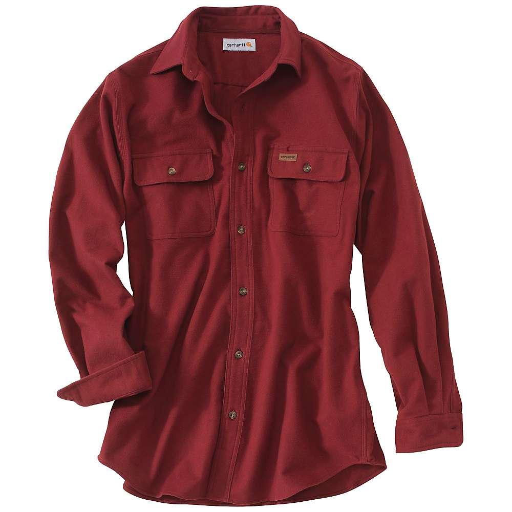 Carhartt men 39 s chamois long sleeve shirt moosejaw for Carhartt men s chamois long sleeve shirt